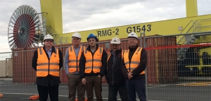 Board Visits Melbourne Freight Terminal and Slag Grinding Mill